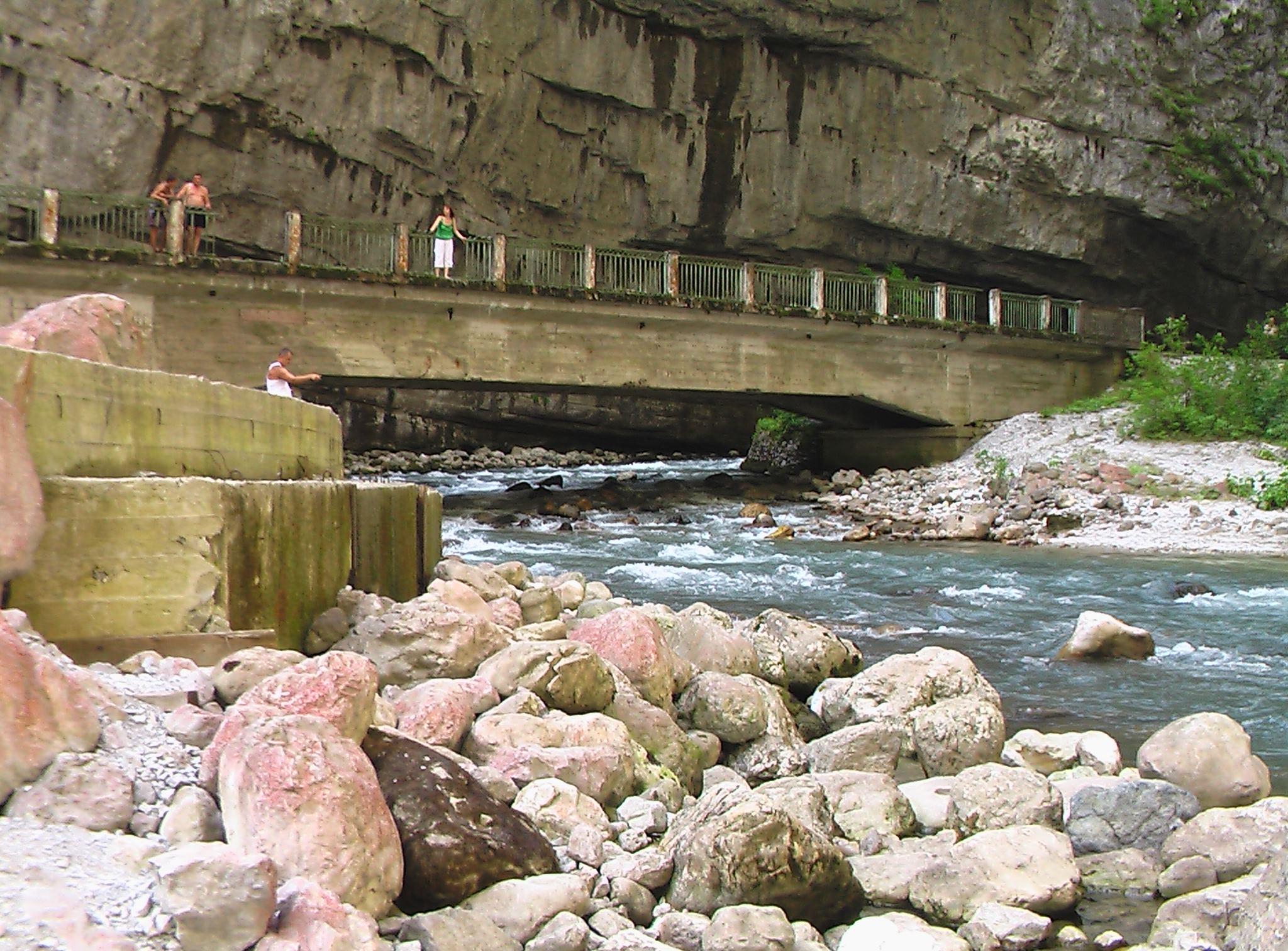 Мост по пути на Рицу